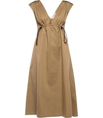 raw-edge dress