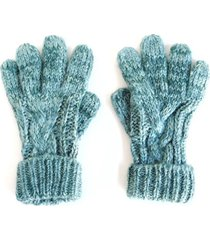 guantes melange verde i-d
