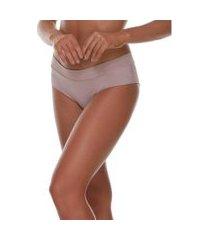 calcinha feminize caleçon com contorno invisível básica