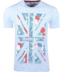 mz72 heren t-shirt the country licht blauw