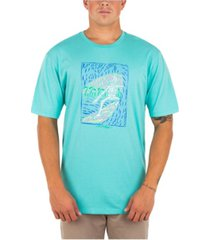 hurley men's every day washed bones t-shirt