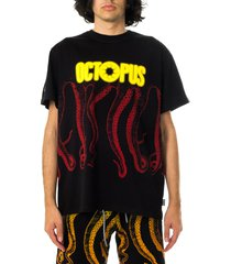 octopus t-shirt uomo blurred tee 21sots11