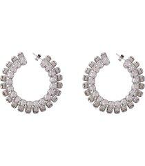 area embellished maxi-earrings