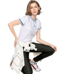camiseta blanco-azul levis