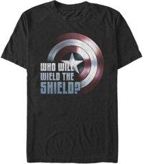 fifth sun men's wielding the shield short sleeve crew t-shirt