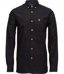 oxford shirt overhemd business zwart lyle & scott