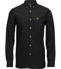 oxford shirt overhemd business zwart lyle & scott