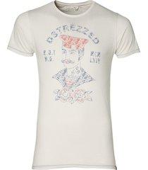dstrezzed t-shirt - slim fit - ecru