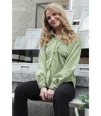 ambika blouse groen viyenne