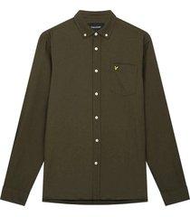 overhemd oxford donkergroen