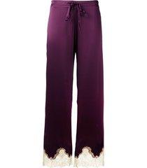 gilda & pearl gina pajama bottoms - red