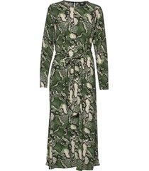 isabel dress knälång klänning grön twist & tango