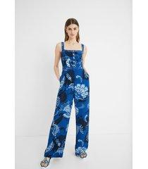 jumpsuit paisley - blue - xl