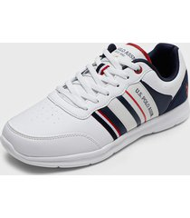 zapatilla urbana blanco us polo assn