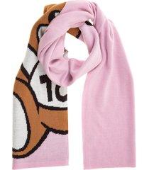 sciarpa donna in lana teddy