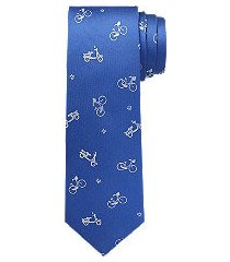 1905 collection bike & moped tie - long