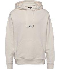 gordon-jljl sweat hoodie trui crème j. lindeberg