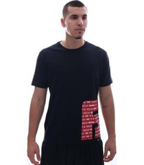camiseta fatal think big preto - masculino