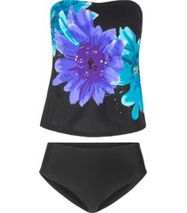 tankini (set 2 pezzi) (nero) - bpc selection