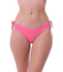 calcinha de biquini simony lingerie tanga com jóia lycra luna rosa - kanui