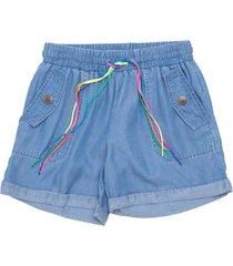 short chambray con cinturon jeans  pillin
