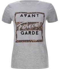 camiseta garde color gris, talla 10