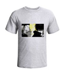 camiseta prorider zeno on cinza claro com estampa retangular horizontal  zocam13
