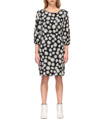 boutique moschino dress boutique moschino georgette dress with daisy print