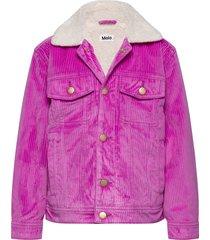 hen outerwear jackets & coats denim & corduroy paars molo