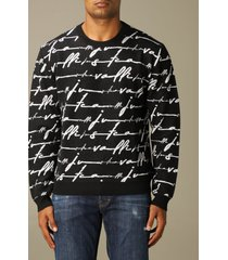 just cavalli sweater just cavalli pullover with all over logo