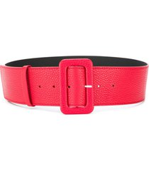 p.a.r.o.s.h. textured leather belt