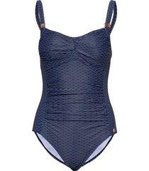 panos water potenza swimsuit badpak badkleding blauw panos emporio