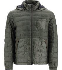eco-nylon puffer jacket
