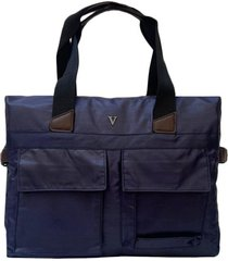 bolso azul vinson leati