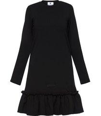 sukienka czarna falbana i