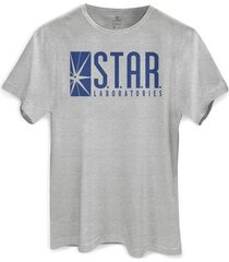 camiseta dc comics the flash star labs bandup!