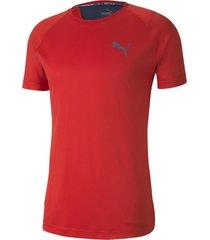 camiseta  roja puma rtg slim fit hombre
