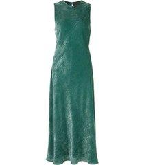 velvet corduroy midi dress