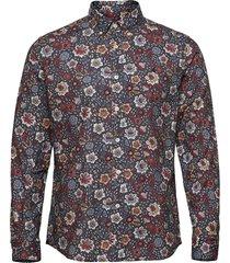 nash button down shirt overhemd casual blauw morris