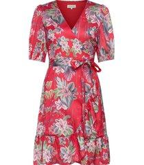 lydia dress jurk knielengte rood by malina