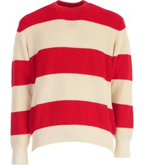 ami alexandre mattiussi striped sweater