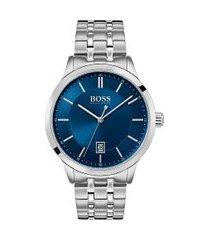 relógio hugo boss masculino aço - 1513615