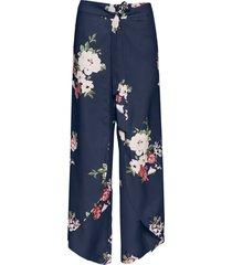 pantaloni a palazzo (blu) - bodyflirt boutique