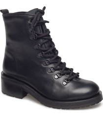 district hiker oxford legi r shoes boots ankle boots ankle boots flat heel svart royal republiq