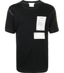 helmut lang base layer cotton t-shirt - black