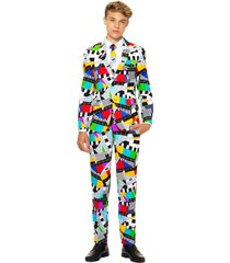 boy's oppo testival two-piece suit with tie