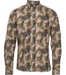 8560 - iver soft skjorta casual brun sand