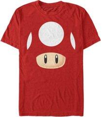 nintendo men's super mario mushroom costume short sleeve t-shirt
