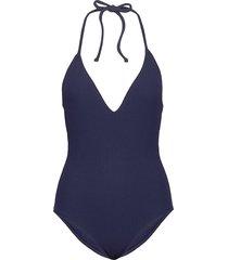 san marino swimsuit badpak badkleding blauw twist & tango