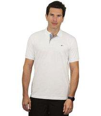 camiseta polo tradicional básica remo fenut - masculino